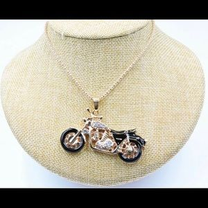 BETSEY JOHNSON~ Moto Necklace